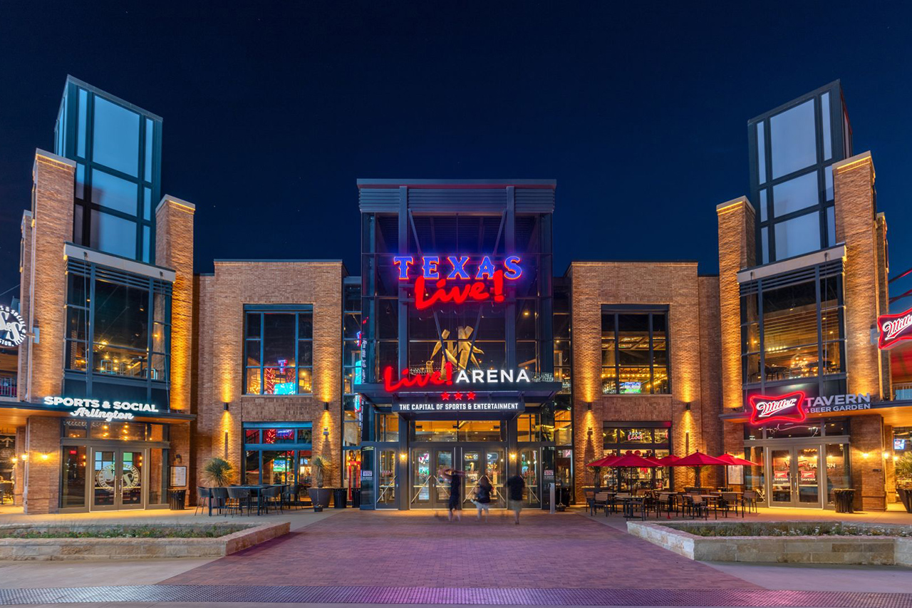 Texas Live Entertainment Complex Arlington TX